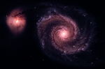 M51 - The Whirlpool Galaxy [Real Space]