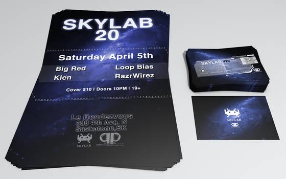 Skylab 20 - Poster and Flyer