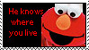 Elmo Knows by PainedRose