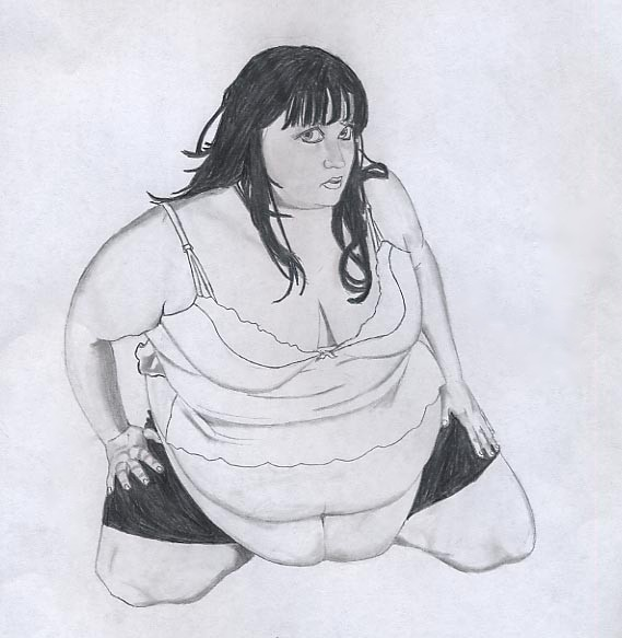 BBW Drawing no. 14 by BBWDepiction