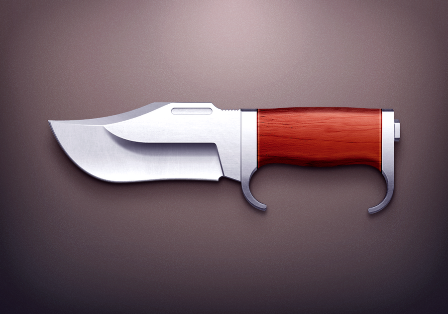 Hunter Knife by kyo-tux