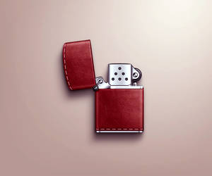 Leather Zippo by kyo-tux
