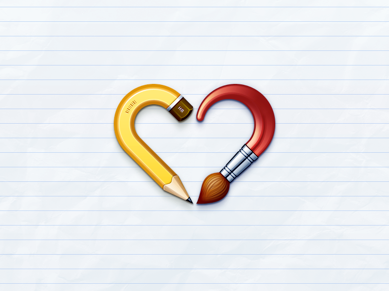 I Heart Icons by kyo-tux