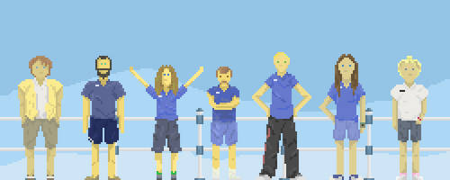 Super Deckchair Marathon 2014 by effete-denizen