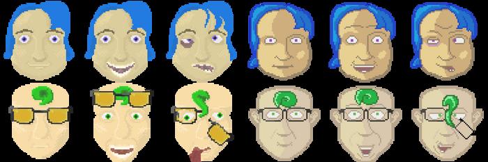 UI Heads by effete-denizen