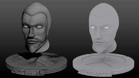 Hanzo 3D Print by effete-denizen