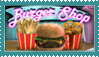 Burger Shop Stamp by RaisloverSakura