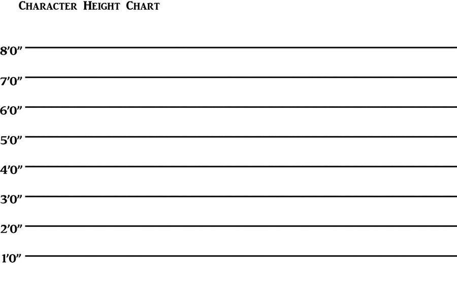 Similiar Blank Character Template Keywords – Blank Comparison Chart Template