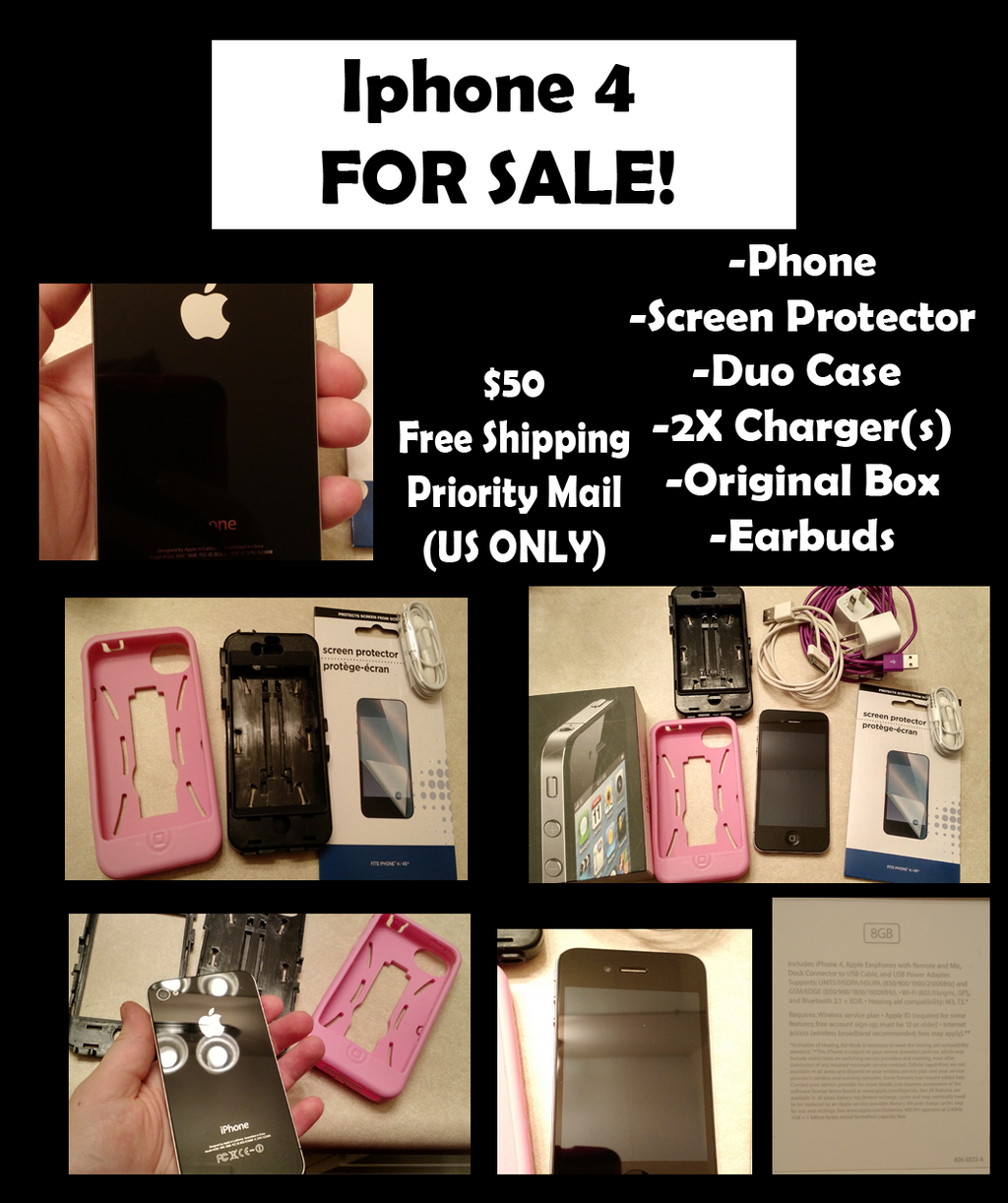Iphone 4 Sale by RaisloverSakura