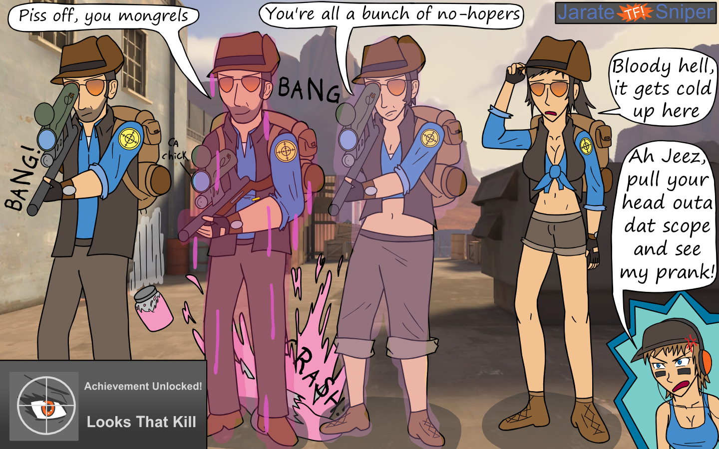The Tf In Tf2 Three By Unit1138 On Deviantart-2088