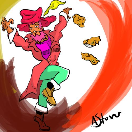 Commission jojo character by Azraelsdemon