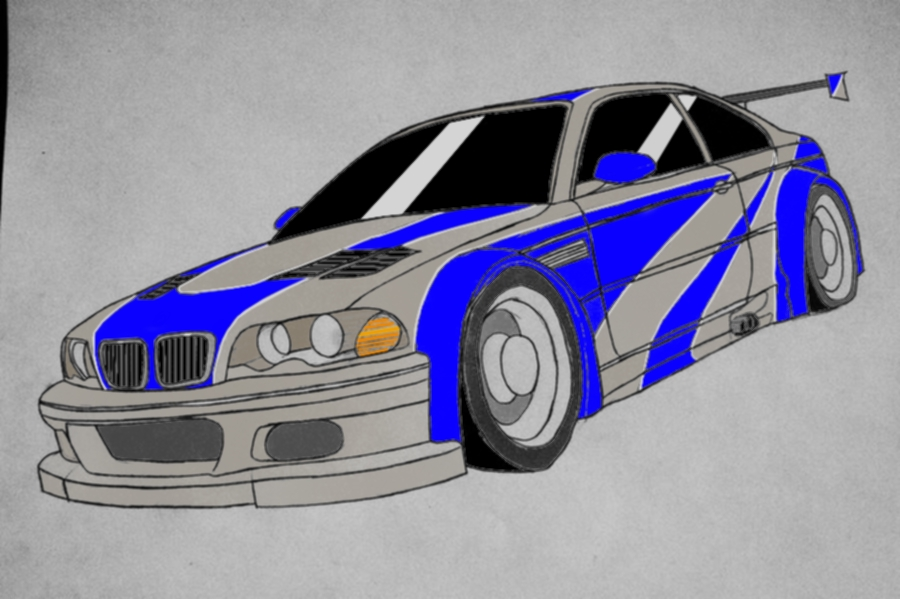 Bmw M3 Gtr Most Wanted By Dantepro2000 On Deviantart