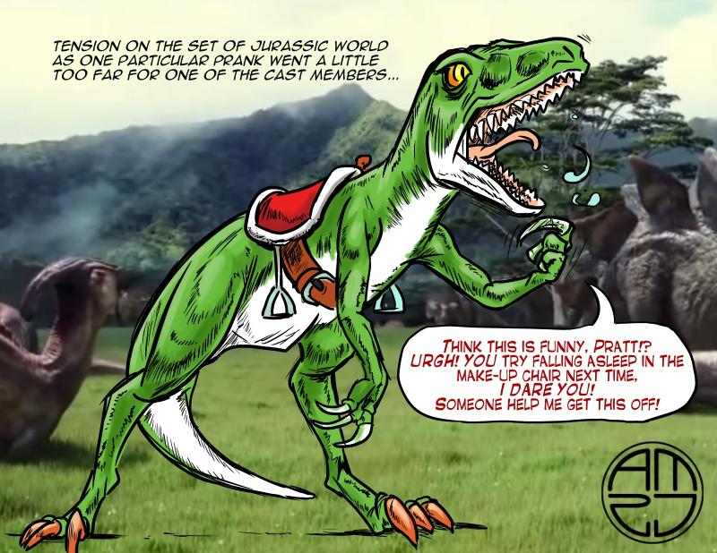 Raptor-Yoshi by TheRealAlpha2