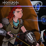 Horizon Zero Dawn - Aloy Fan Art