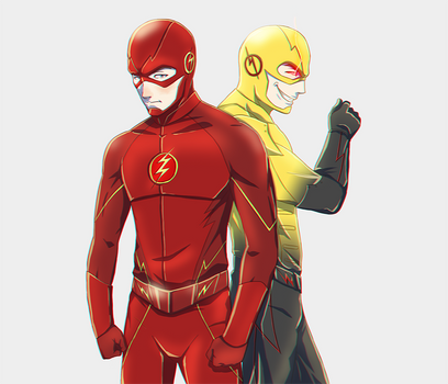 The Flash and Professor Zoom