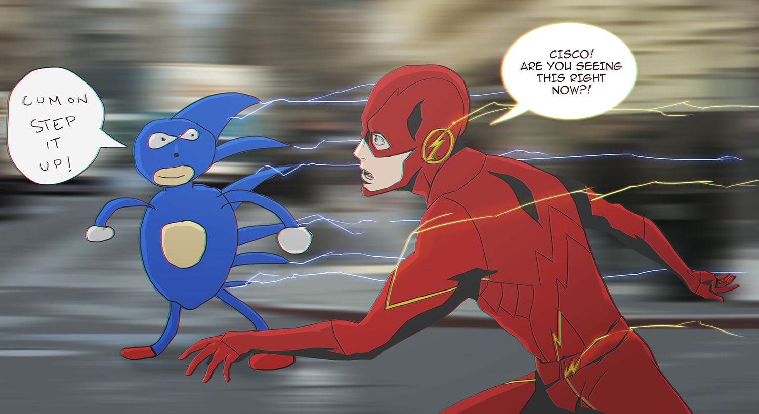 Sanic Is Coming By Fxnart On Deviantart