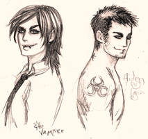 Aiden... and the vampire