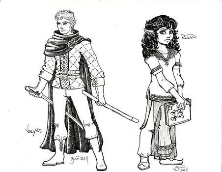 Valyns and Rissa