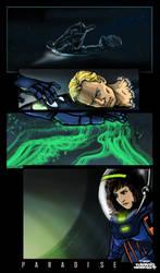Prometheus Paradise Comic Art By Orign Of Futp by futprntsworkshop