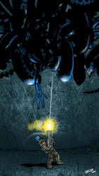 Aliens Vs Tata by futprntsworkshop