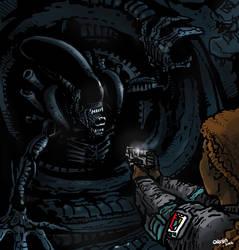 Alien by futprntsworkshop