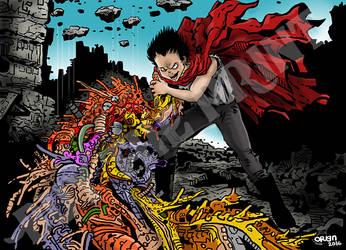 Akira by Orign by futprntsworkshop