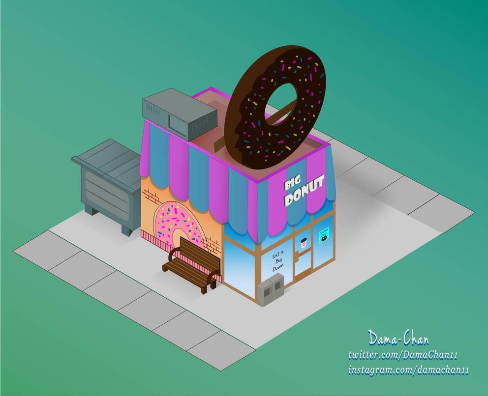 Big Donut by RedEyeAngel