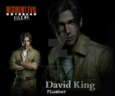 Resident Evil Outbreak File #3 David King by DavidDarkheartKing