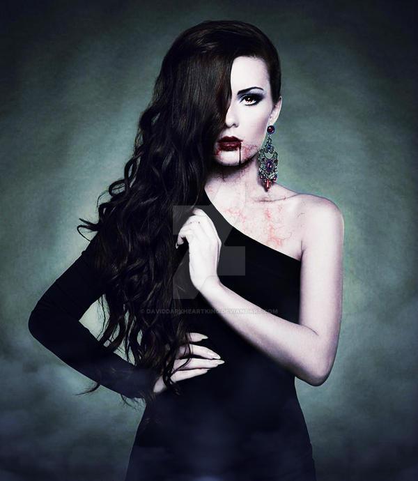Vampire Beauty by DavidDarkheartKing