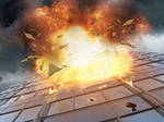 Explosion Premade Background