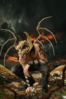 Angel of War by DavidDarkheartKing