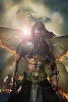 Angel of Death by DavidDarkheartKing
