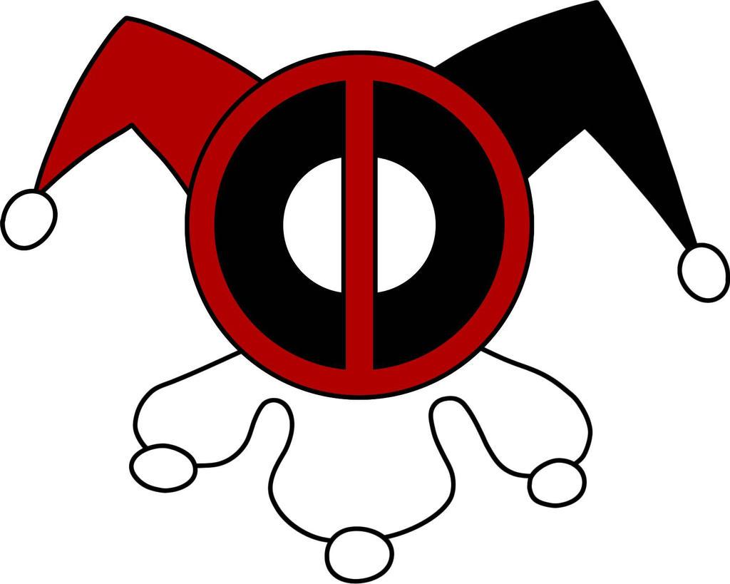 Deadpool Harley Quinn logo by CptKyron on DeviantArt