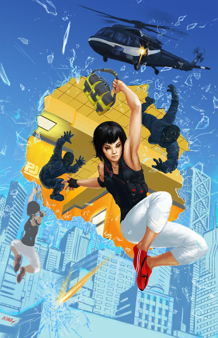Mirror's Edge by komalley