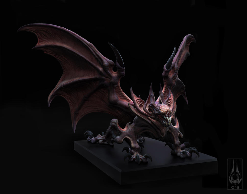 drakk bat dragon by - photo #15
