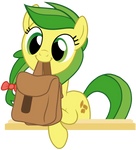 Adorable Apple Fritter Holding Bags