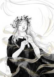 Play, minstrel, play by SekhetAaru