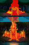 Flame Princess by Hinecko-Rin