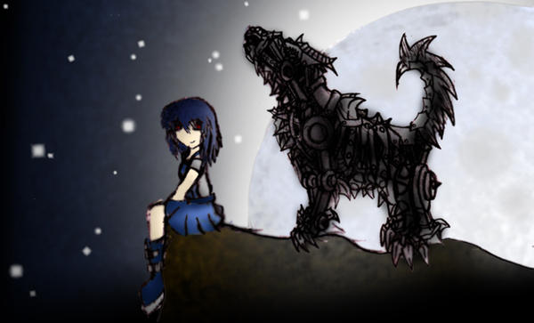 Robot Wolf By Kempping Deviantart Dibujos Para Colorear