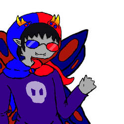 I also drew sollux by ChibiDomino
