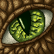 Lizard eye by annethyl