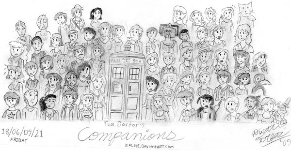 The Doctor's Companions by Zal001