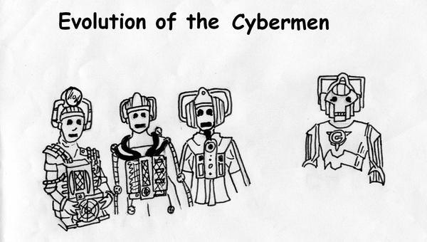 Evolution Of The Cybermen Evolution of the Cyber...