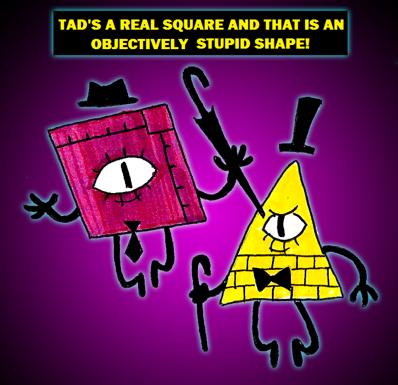 Tad Strange and Bill Cipher by Zal001 on DeviantArt