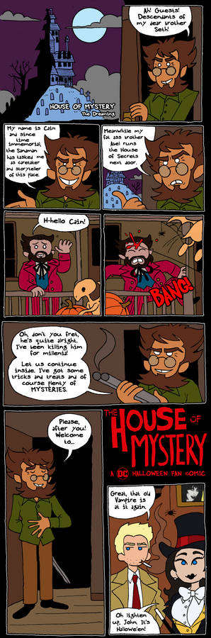 House of Mystery page 1