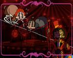 Join the Carnival! Acrobatic Arachnids
