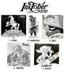 Inktober 2019 - part 1