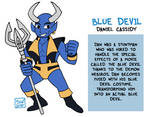 Blue Devil by Zal-Cryptid
