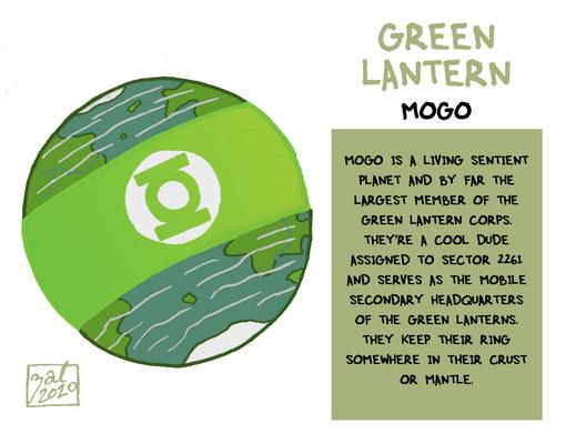 Green Lantern - Mogo