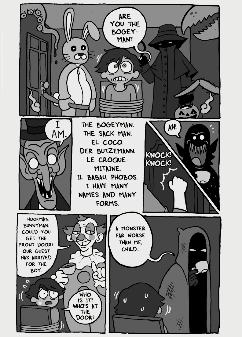 Here Comes the Bogeyman, page 2